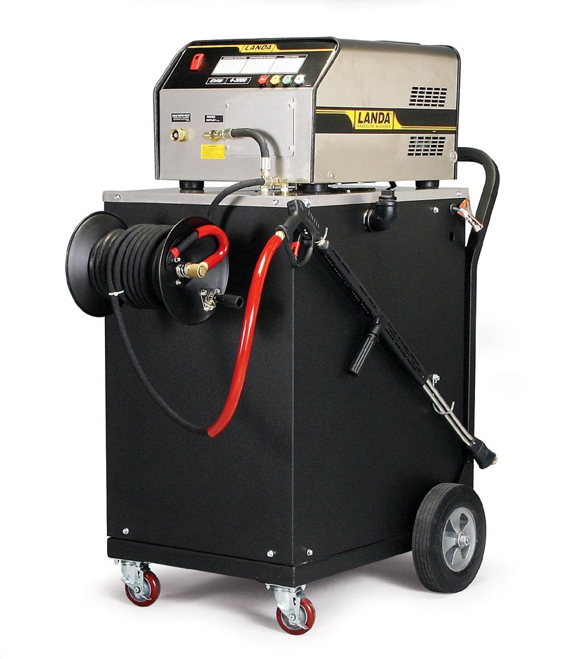 Manufacturer of pressure washers and water cleaning systems, including automatic aqueous parts washers.