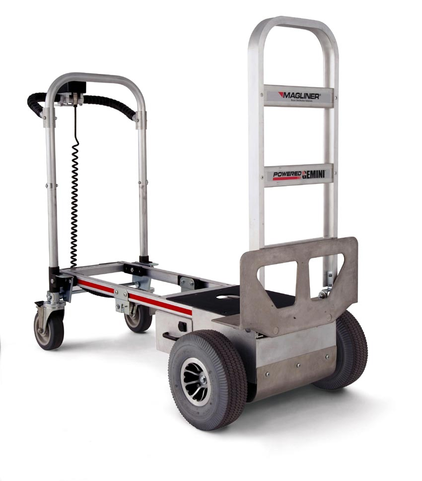 Powered hand motorized stair climbing dolly hand for Motorized hand truck dolly