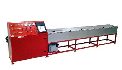 Hose Test Bench For Hydrostatic Testing Pressures To