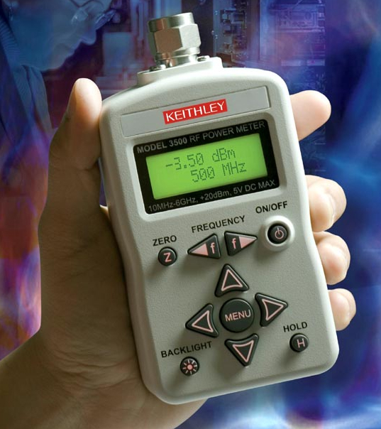 Handheld Rf Meter : Keithley introduces the first powerful lab quality