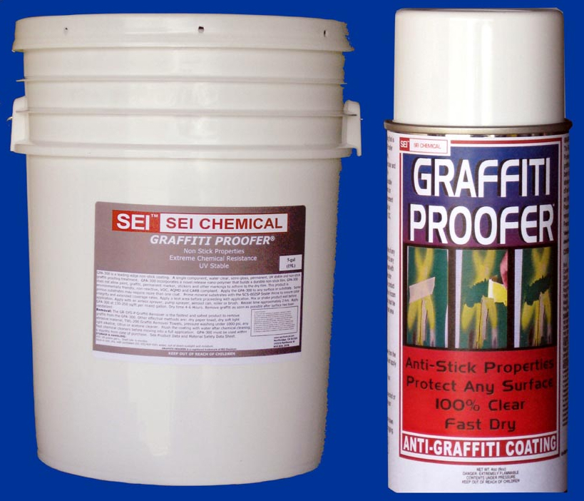 sei chemical introduces next generation anti graffiti