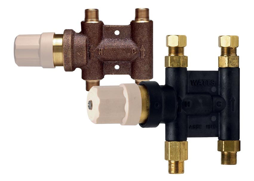 Watts Adds Integral Strainers On Usg Series Mixing Valves