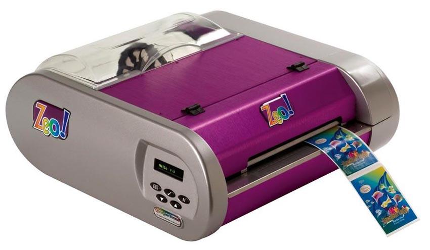 ... Introduces Zeo! Inkjet Label Printer with HP Inkjet Technology
