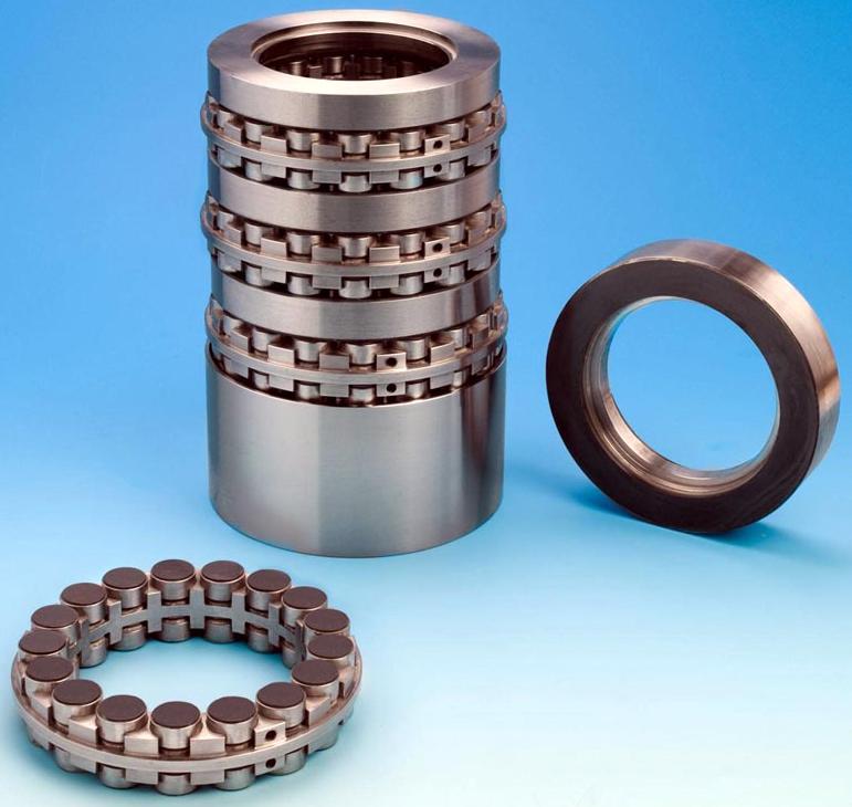 Stacked Motor Bearings Accommodate Virtually Any Axial Load