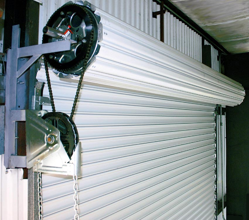 Medium duty service door fills a market need for 12 foot roll up door