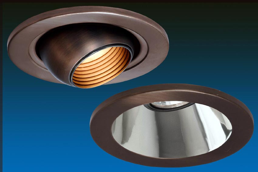 6 Inch Par30 Adjustable Gimbal Ring Trim White Recessed: W.A.C. Lighting Introduces Low Voltage Recessed Downlights