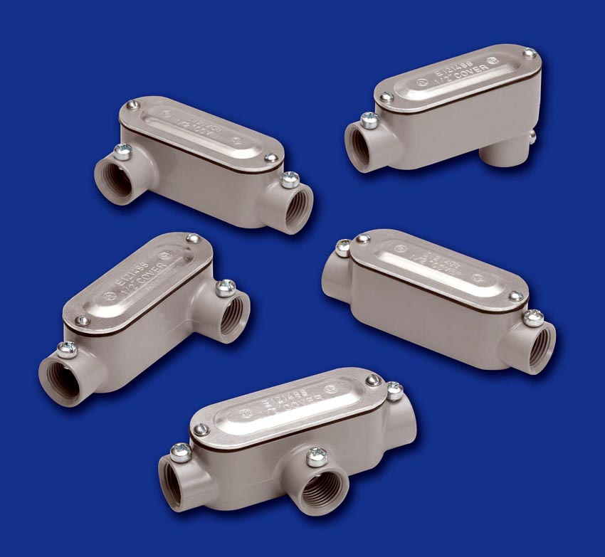 Bridgeport fittings offers combination conduit bodies for