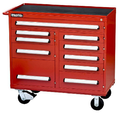 Tool Chests combine industrial strength/mobility/flexibility.
