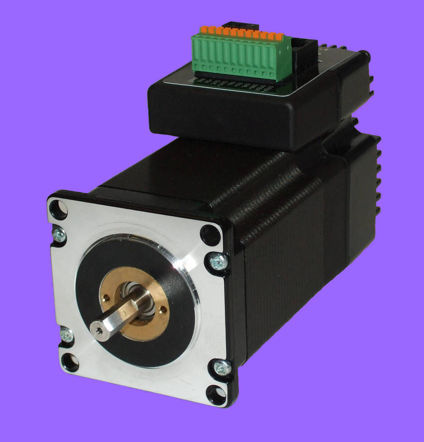 Engine motor controls controllers for Integrated servo motor and drive