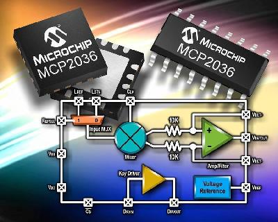 ...индуктивных сенсорных клавиатур.  Компания Microchip анонсировала...