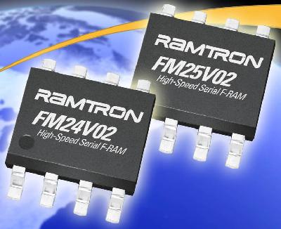 Для микросхем FM24V02 и FM25V02 гарантируется работа во всем промышленном температурном диапазоне от -40 C до +85 C.
