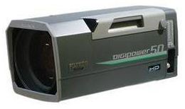 High-Definition Telephoto Lens works with ENG cameras., Fujinon, Inc.