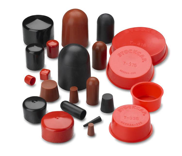 Plastic caps and plugs assist design engineers in