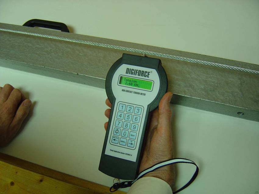 Wire Measuring Device : Leading uk measurement company introduces non contact