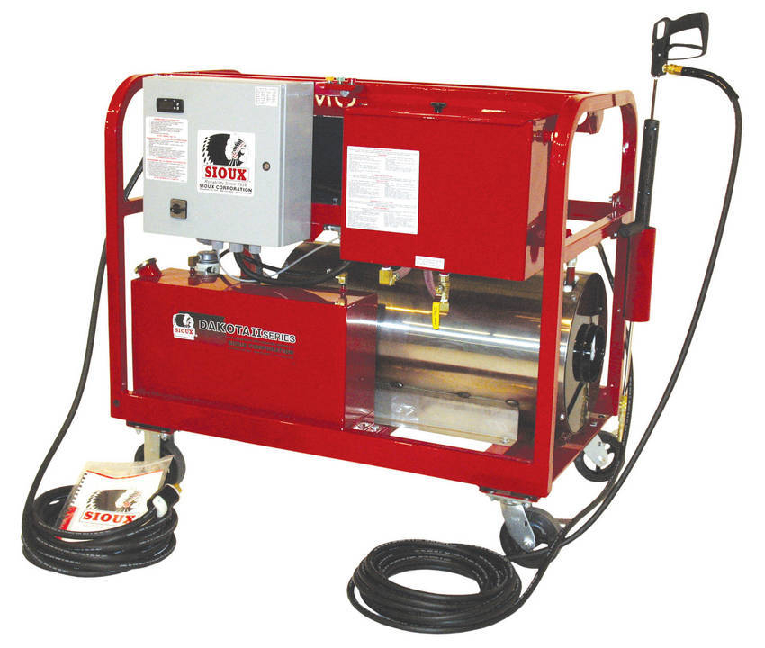 Power Steamers For Cleaning ~ Sioux corporation s dakota ii series product line for