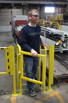 Wildeck Introduces New Laddergard Tm Safety Swing Gates