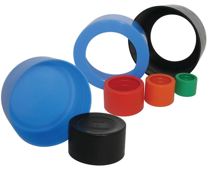 Pipe caps for shipping and storage protection