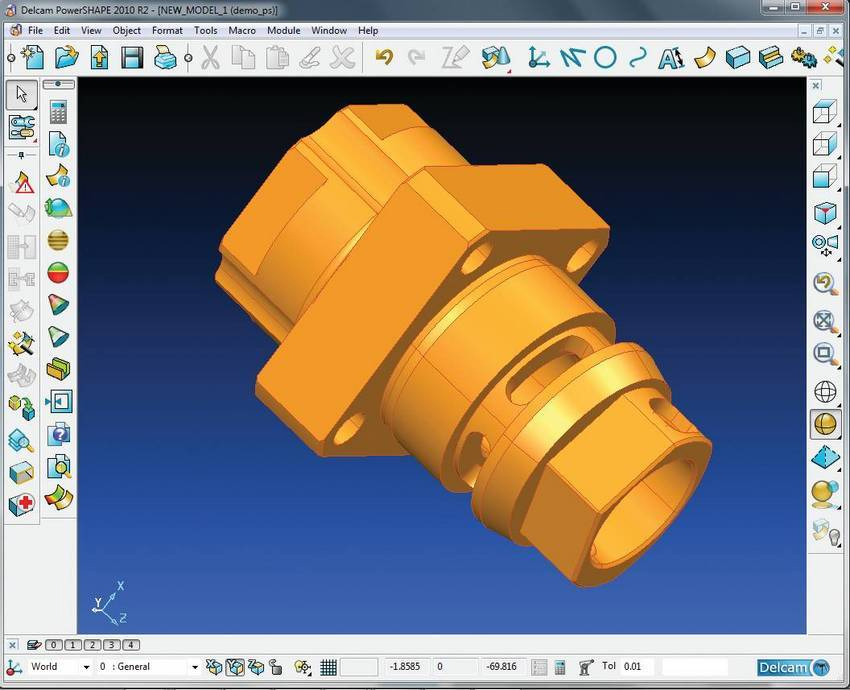 3d Cad Software Works With Partmaker And Other Cad Cam