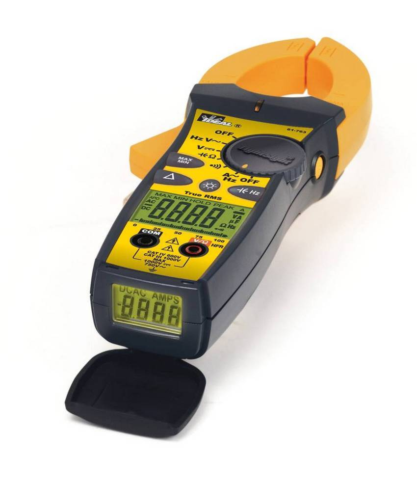 Electrical Clamp Meter : Ideal launches upgraded tightsight tm clamp meters with