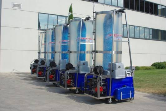 Speedy Wash Combination Mobile Brush And High Pressure Wash