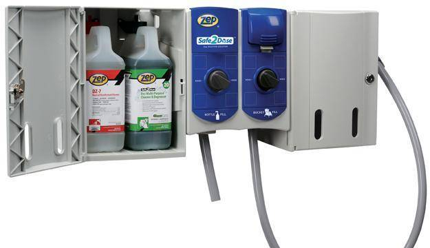 New Chemical Dispensing System Makes Green Cleaning Easier