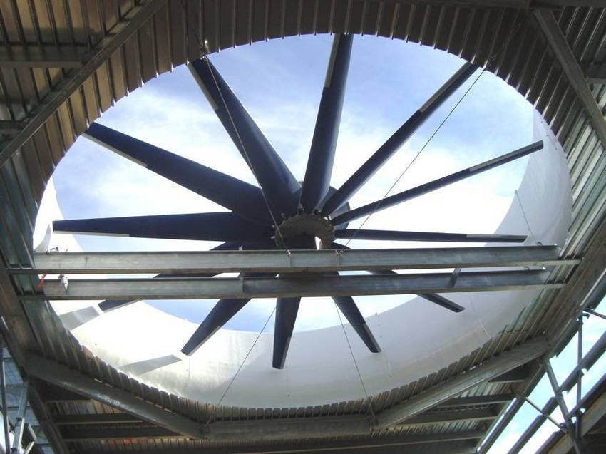 Cooling Tower Fan : Swifter cooling tower fans deliver more airflow at power