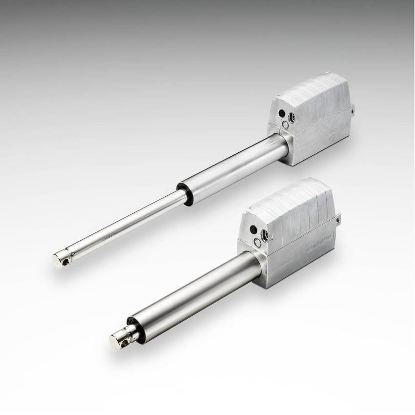 Electric Actuators Replace Fluid Power Alternatives For