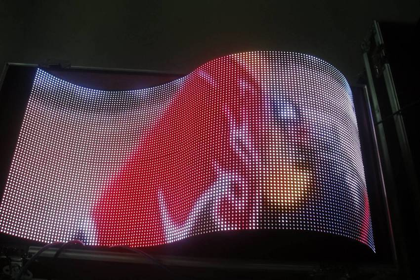 Designled Launched P6mm Flexible Led Screen