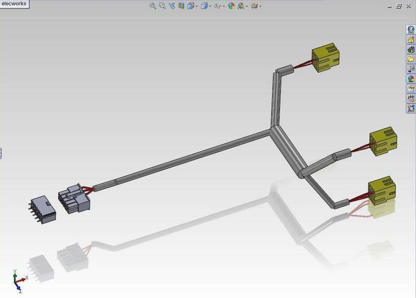 Cad wire harness