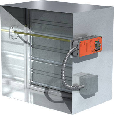 New Greenheck Actuator Helps Reduce Damper Installation Costs