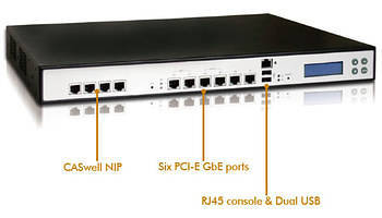 Network Throughput on Network Security Appliance Optimizes Average Lan Throughput