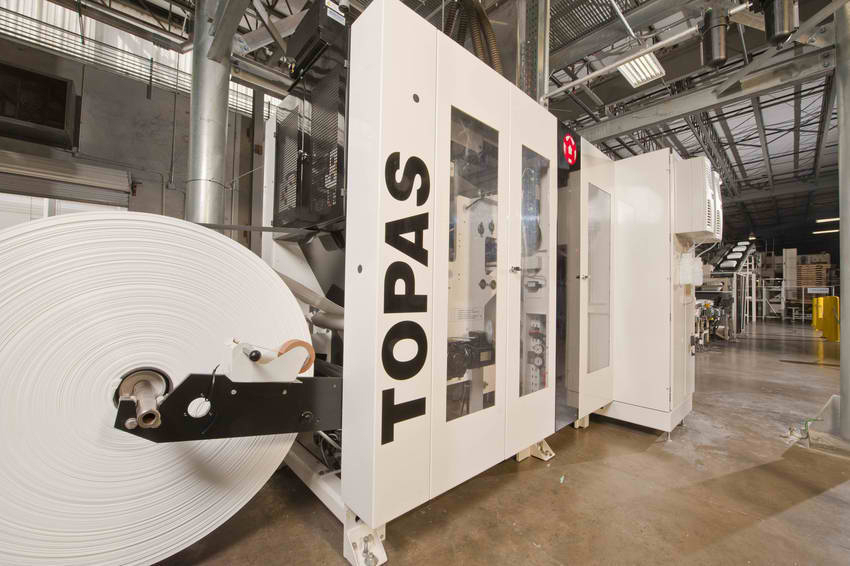 topas bagging machine