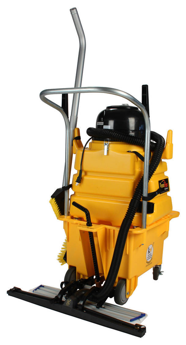 Floor Cleaning System Meets Building Service Contractors Needs