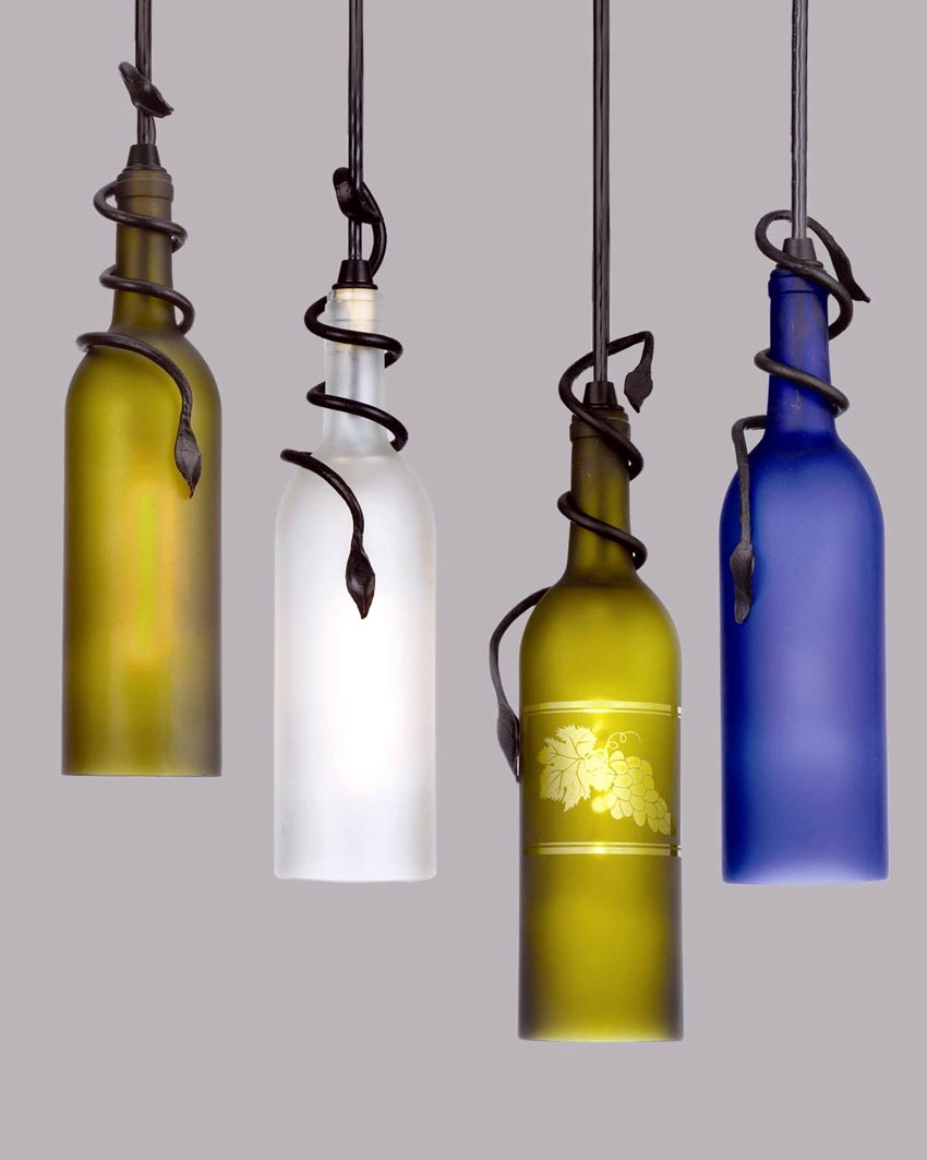 Meyda lighting introduces unique wine bottle pendants - Wine bottle pendant light ...