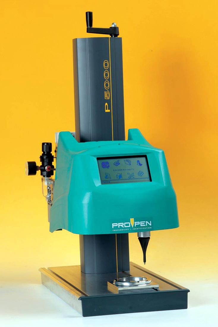 New Pro Pen P5000 Marking Machine Offers Fast And Easy