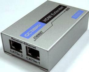 Ethernet on Hdmi To Ethernet Extender Is Designed For 1 080p Hd Video   Octava