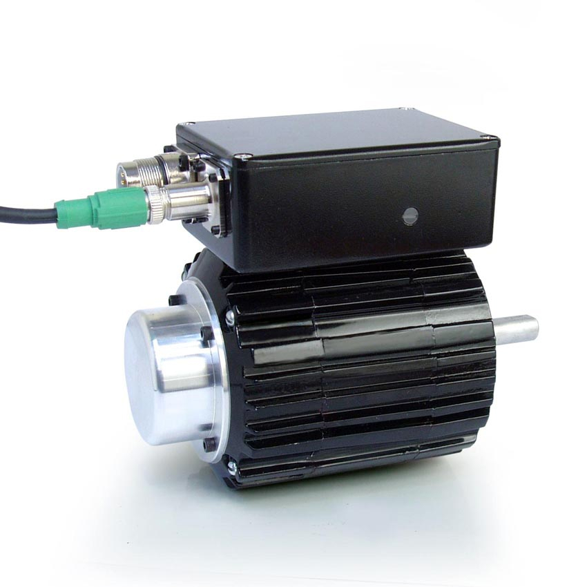 Bodine electric company announces new larger integramotor tm for Large brushless dc motor
