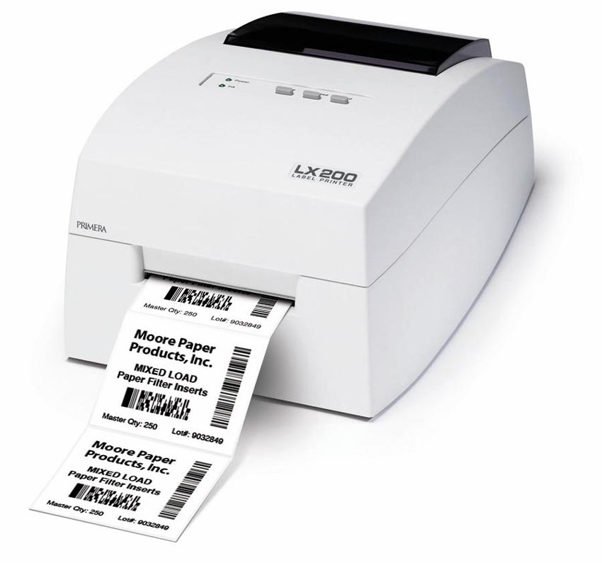 Custom Card Template printing labels : Primera Announces High-Resolution Bar Code Label Printer
