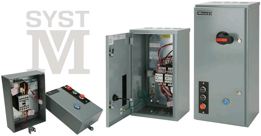 Moeller Offers Ready Made Enclosed Motor Starters
