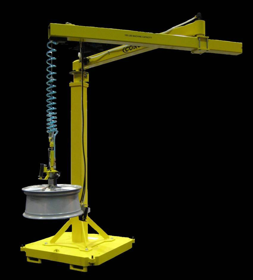 Articulating Arm Hoist : Positech corp introduces new articulated jib arm under