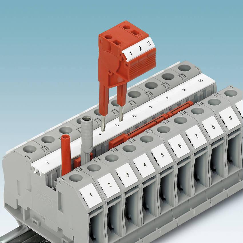 Ring Lug Terminal Blocks Provide Rugged Bolt Connection