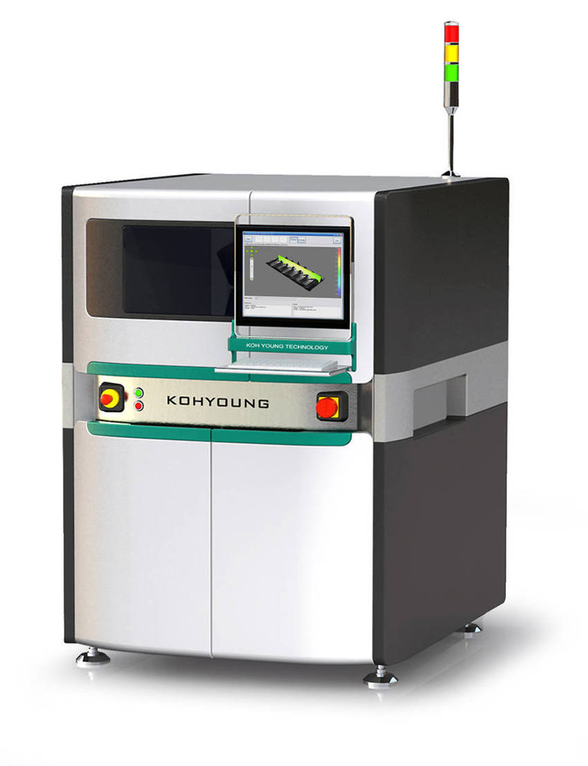 Automated Optical Inspection : Koh young quot breaks the d aoi barrier with revolutionary