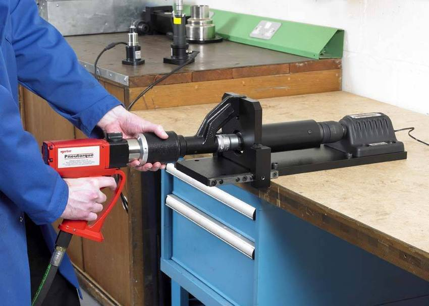 Power Tool Tester : New bench top power tool test fixture reduces