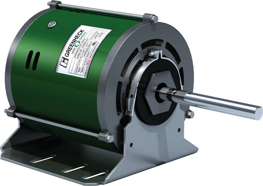 Greenheck introduces the vari green motor for Large brushless dc motor