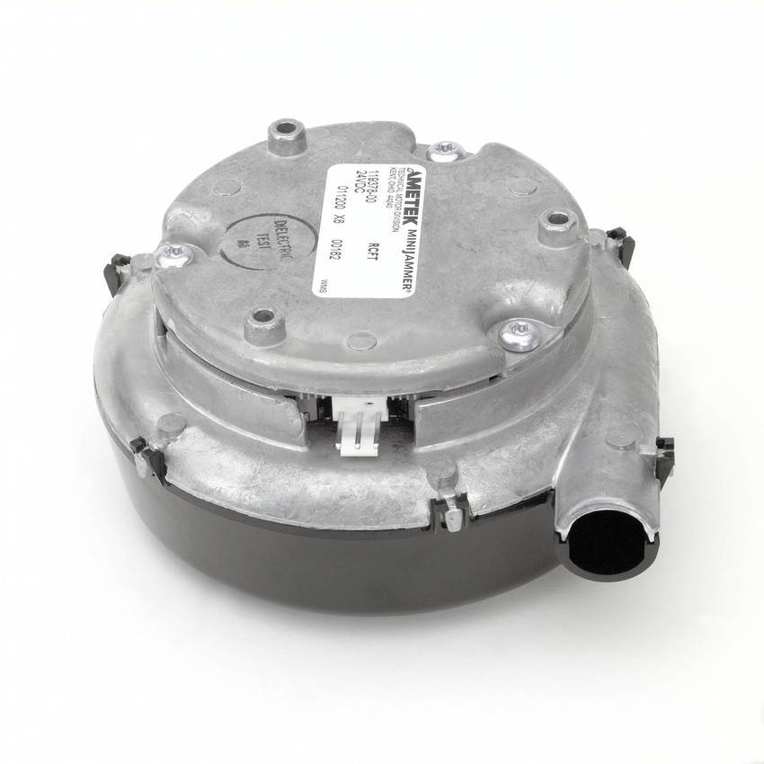 Low Voltage Blower : Compact versions of windjammer brushless dc blowers offer