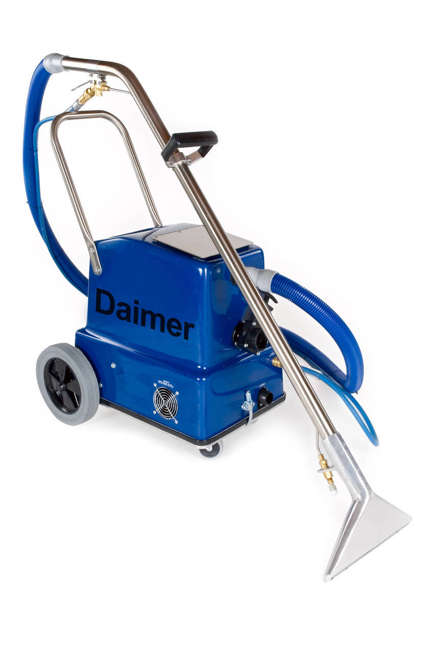 Carpet Cleaners With Hotter Steam Now Shipping From Daimer