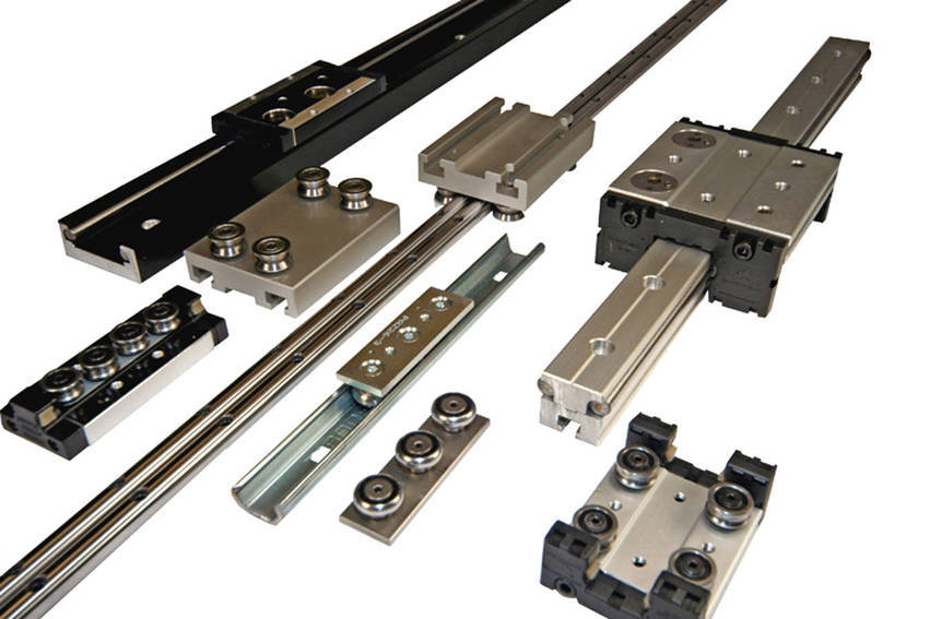 Linear Motion System : High speed low profile linear motion systems are easy to
