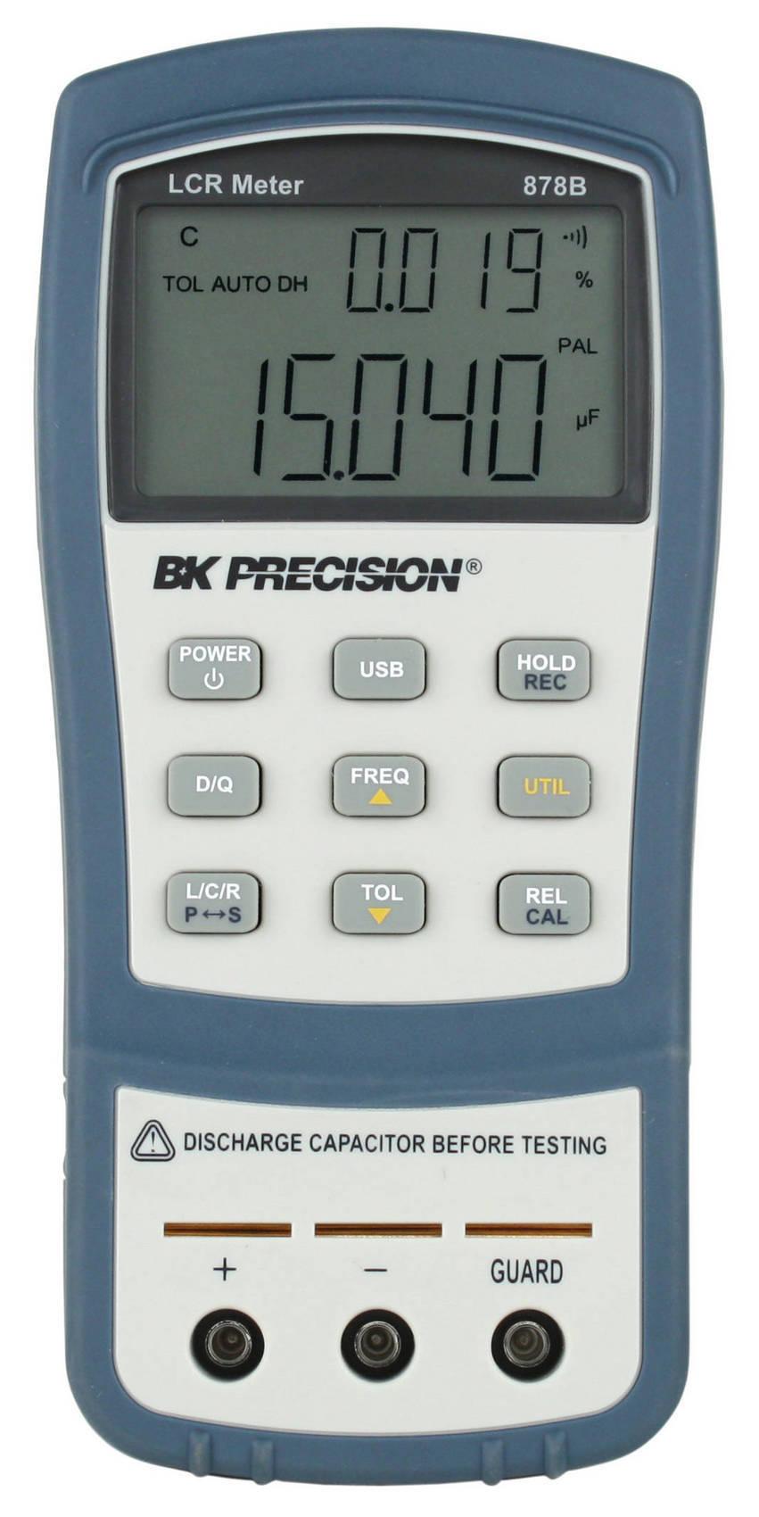 Fluke Lcr Meter : B k precision upgrades handheld lcr meters