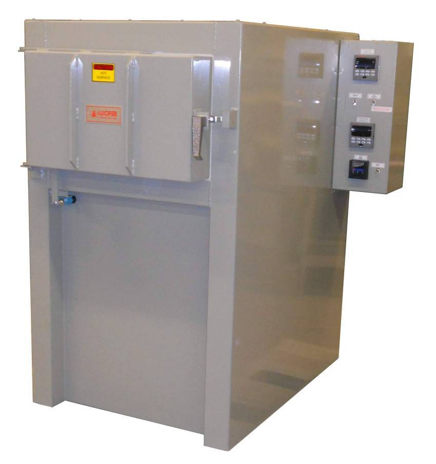 Heat Treating Oven : Machine parts manufacturer orders lucifer furnaces heat