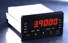 Digital Panel Meters are powered by 115 or 230 Vac.
